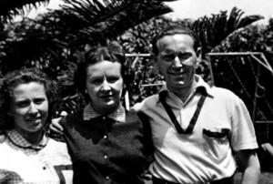 Irene Lewkowicz, Felicia y Michel Topilski. Lima